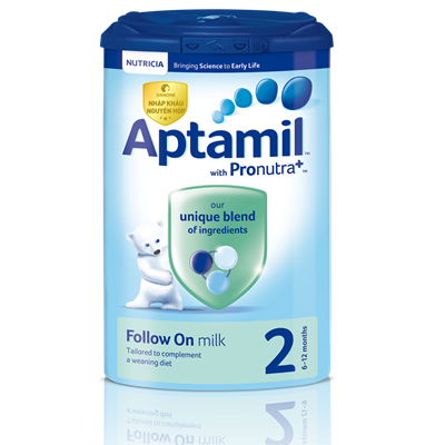 Sữa Aptamil Anh số 2 900g (6-12 tháng)