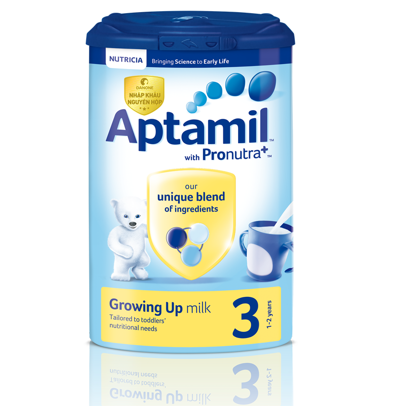 Sữa Aptamil Anh số 3 900g (1-2 tuổi)