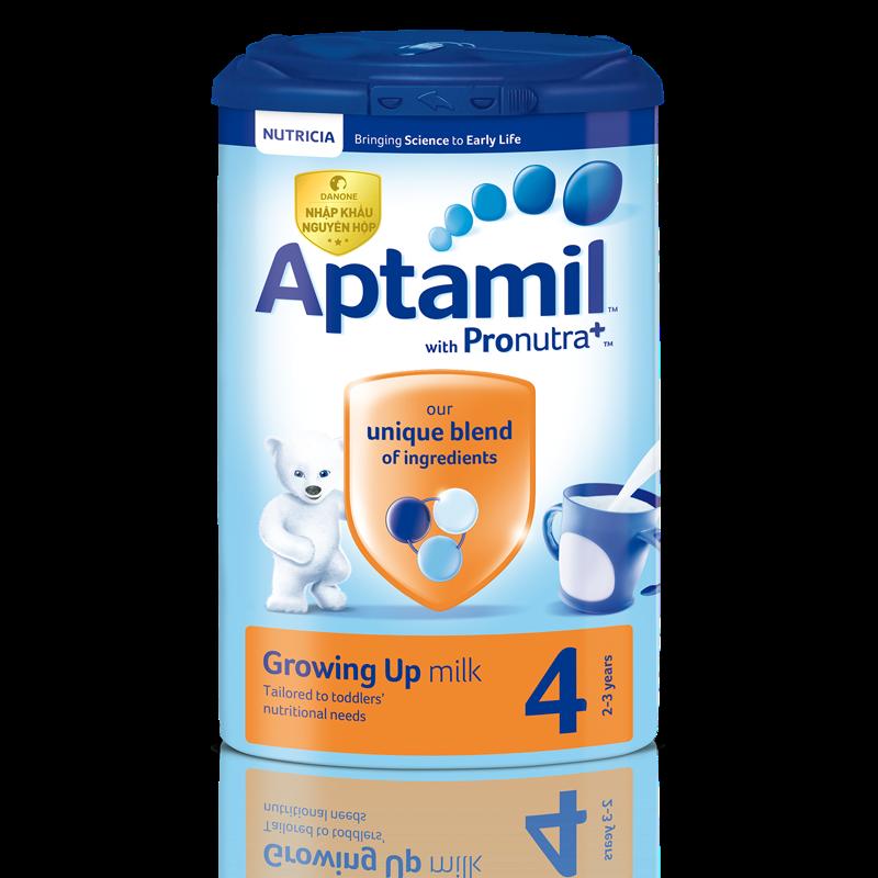 Sữa Aptamil Anh số 4 - 800g (2-3 tuổi)