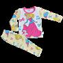 Bộ quần áo cotton bé gái in hình QC5008 (1-3T)