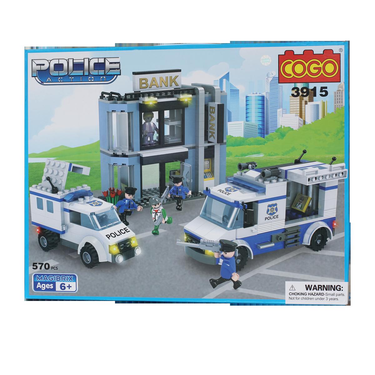 Đồ chơi xếp hình COGO 3915 - Vụ cướp ngân hàng