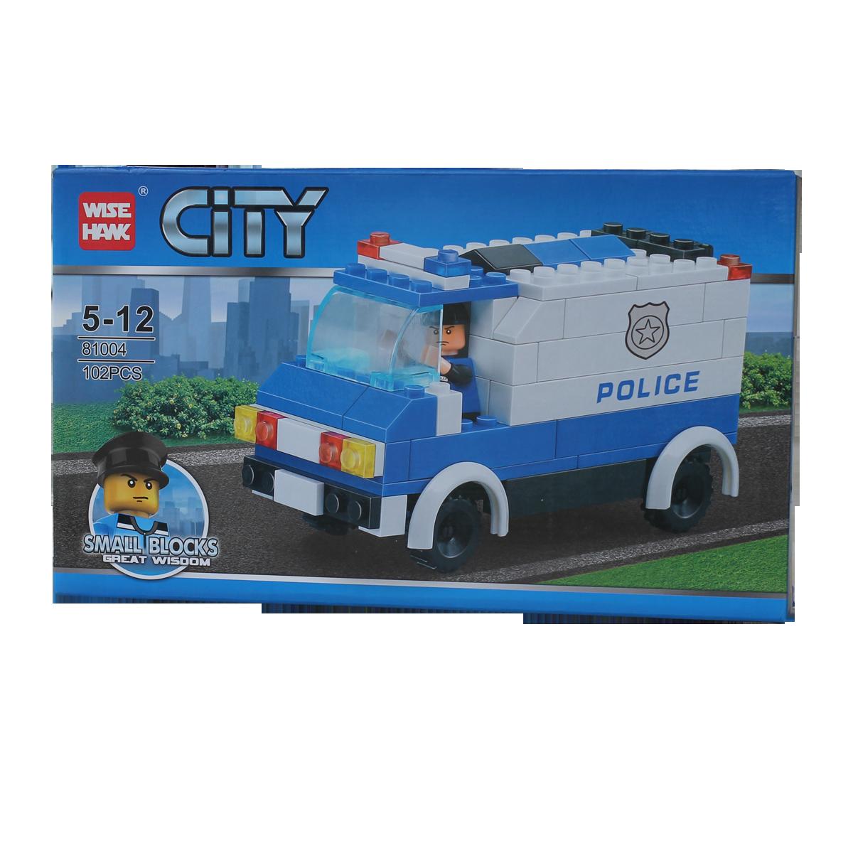 Đồ chơi xếp hình CITY 81004 - Xe cảnh sát