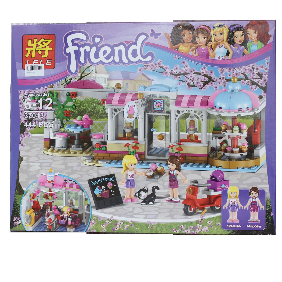 Đồ chơi xếp hình LELE Friend 37013