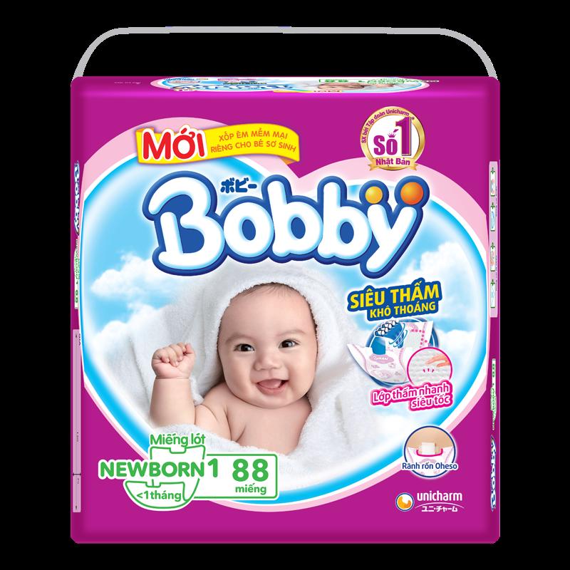 Ta giay Bobby Newborn 1 (88 mieng)