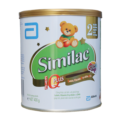 Sữa Similac IQ Plus số 2 - 400g (6-12 tháng)