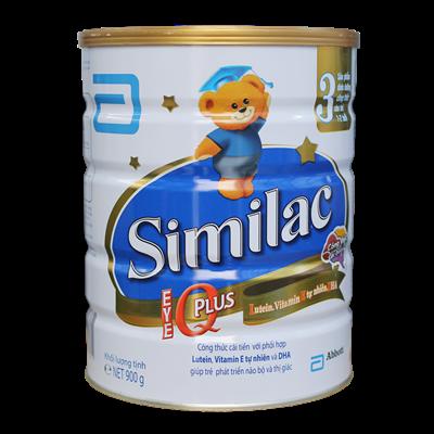 Sữa Similac IQ Plus số 3 - 900g (1-2 tuổi)