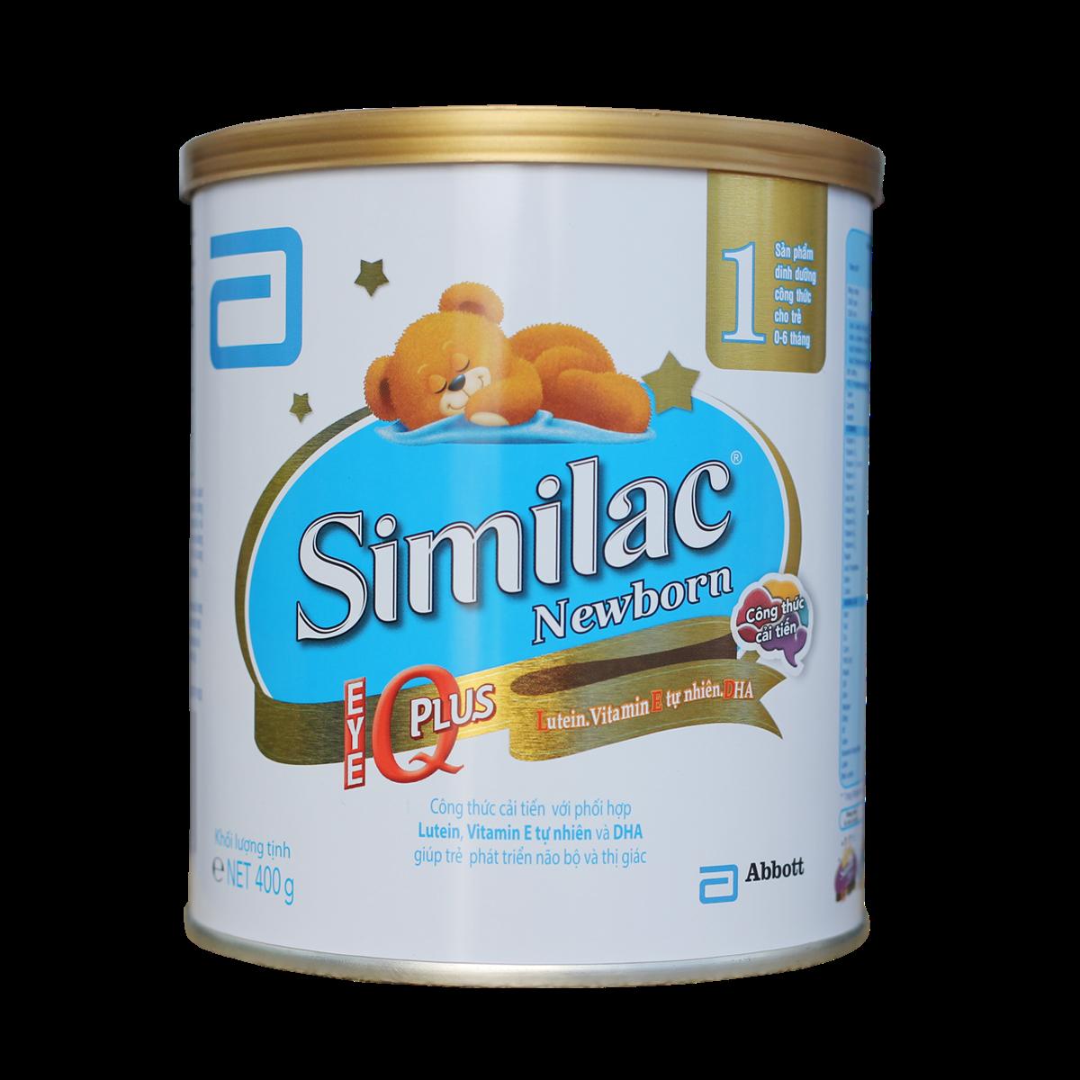 Sữa Similac Newborn số 1 - 400g (0-6 tháng)