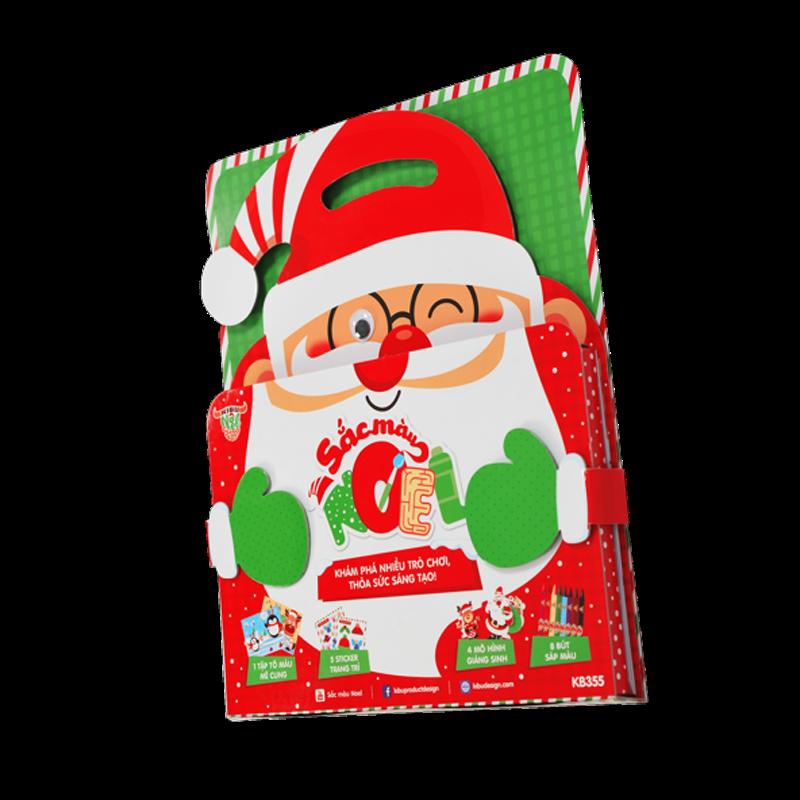 Bộ tô màu Kibu - Sắc màu Noel