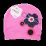 Mũ len đính hoa nơ TE004 (6M+)