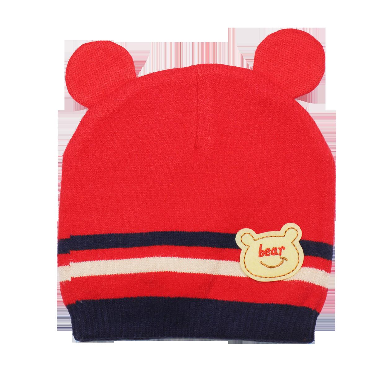 Mũ len hình gấu TE004 (6M+)
