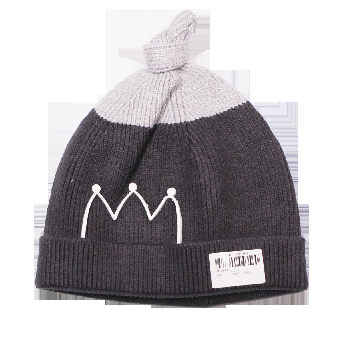 Mũ len trẻ em cột chóp TE502 (6M+)