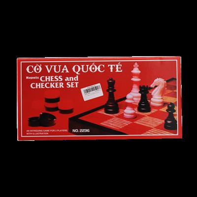 Bộ cờ vua - cá ngựa No.2226 (loại nhỏ)