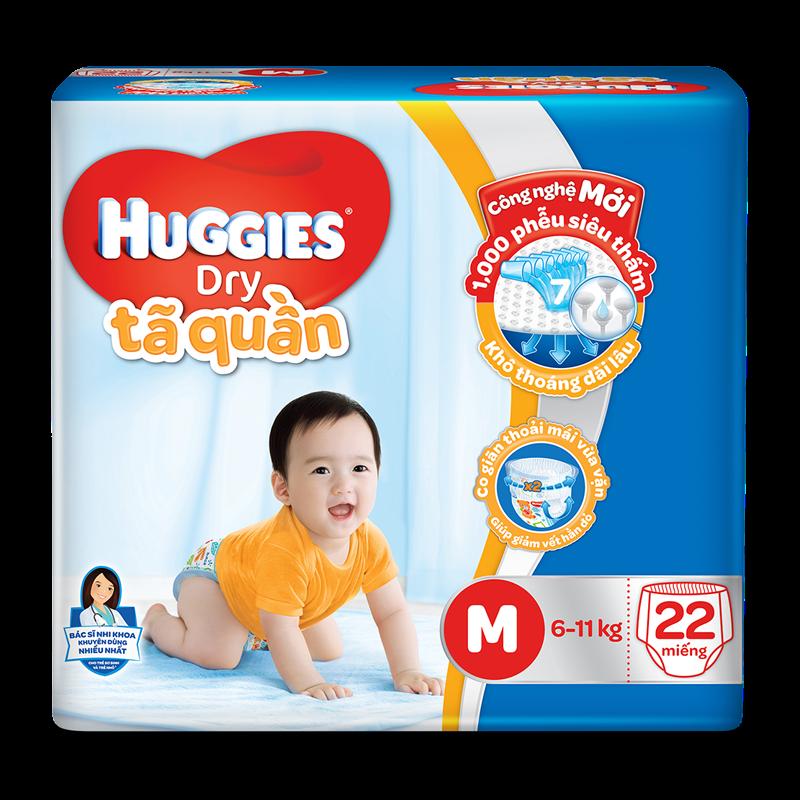Ta - Bim quan Huggies M22 (6-11kg)