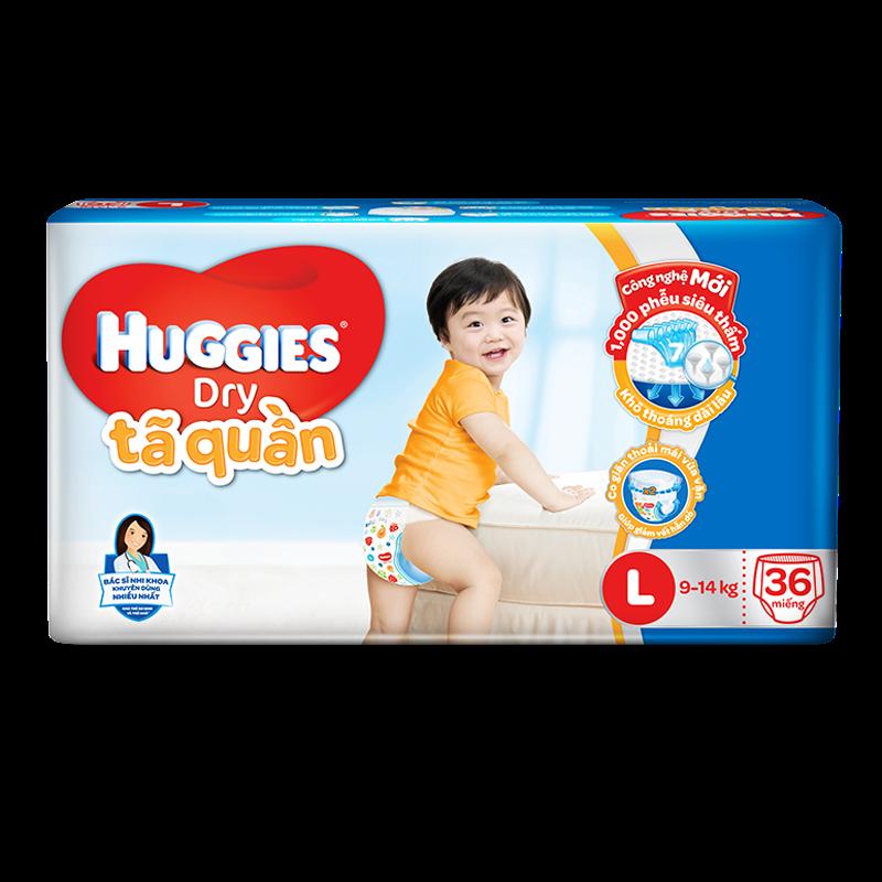 Tã - bỉm quần Huggies L36 (9-14kg)