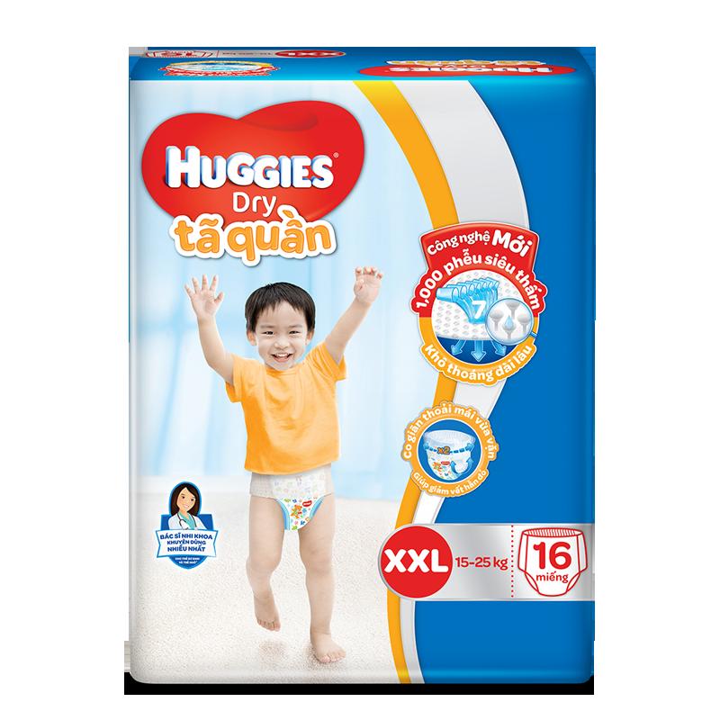 Tã - bỉm quần Huggies XXL16