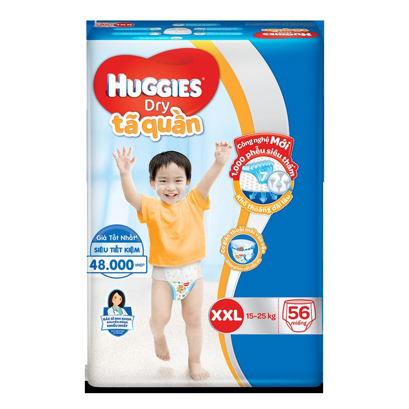 Tã – Bỉm quần Huggies XXL56 (15 – 25 kg)