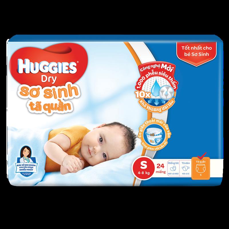 Ta - bim quan Huggies S24 (4-8kg)