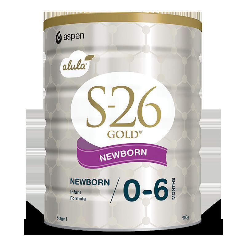Sữa S-26 Gold Newborn số 1 900g (0-6 tháng)
