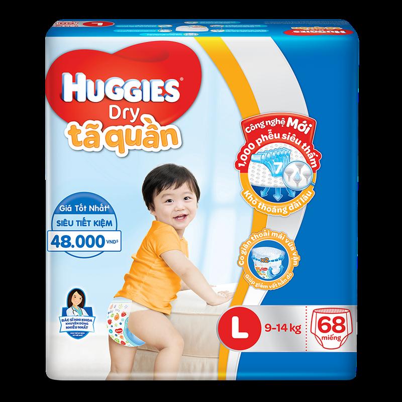 Ta - Bim quan Huggies Dry L68 (9-14kg)