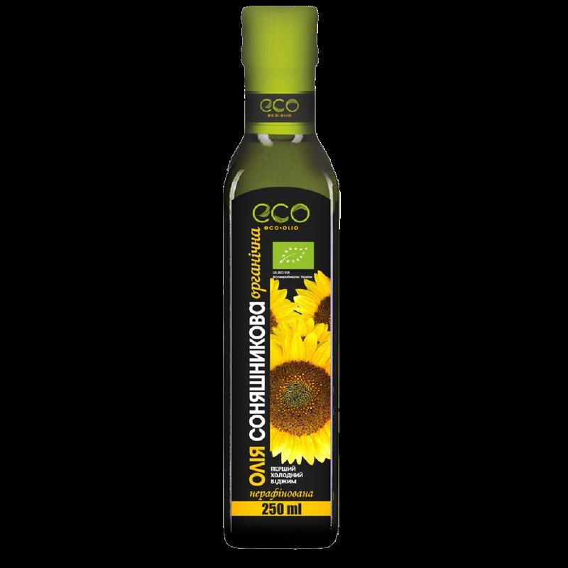 Dầu hướng dương Eco (250ml)