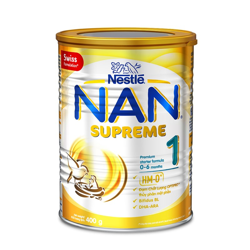 Sua Nan Supreme so 1 400g (0-6 thang)