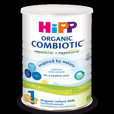 Sữa bột Combiotic HiPP số 1 - 800g (0-6 tháng)