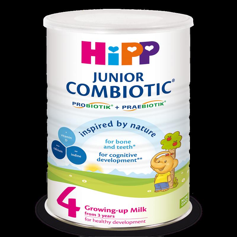 Sua bot HiPP 4 Junior Combiotic (800g)
