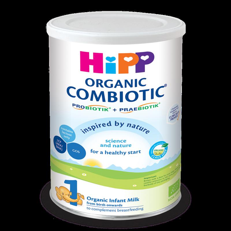 Sữa bột HiPP Combiotic số 1 350g (0-6 tháng)