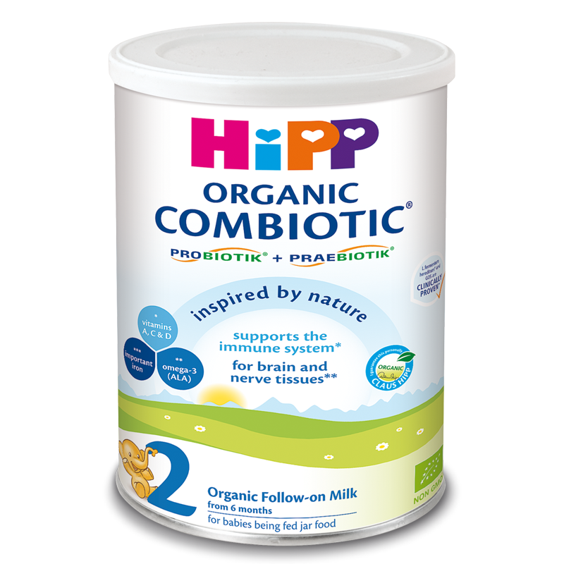 Sua bot HiPP Combiotic so 2 350g (6-12 thang)