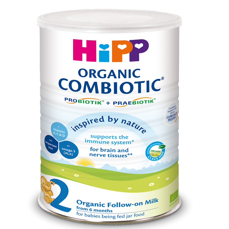Sua bot HiPP Combiotic so 2 - 800g (6-12 thang)