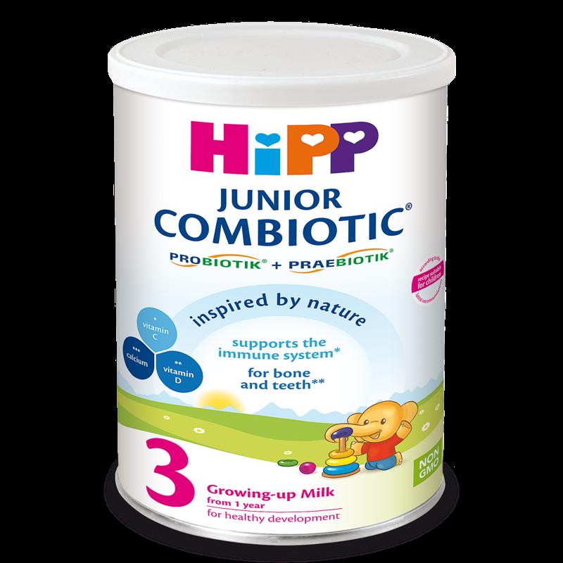 Sua bot HiPP Combiotic so 3 350g (tu 1 tuoi tro len)