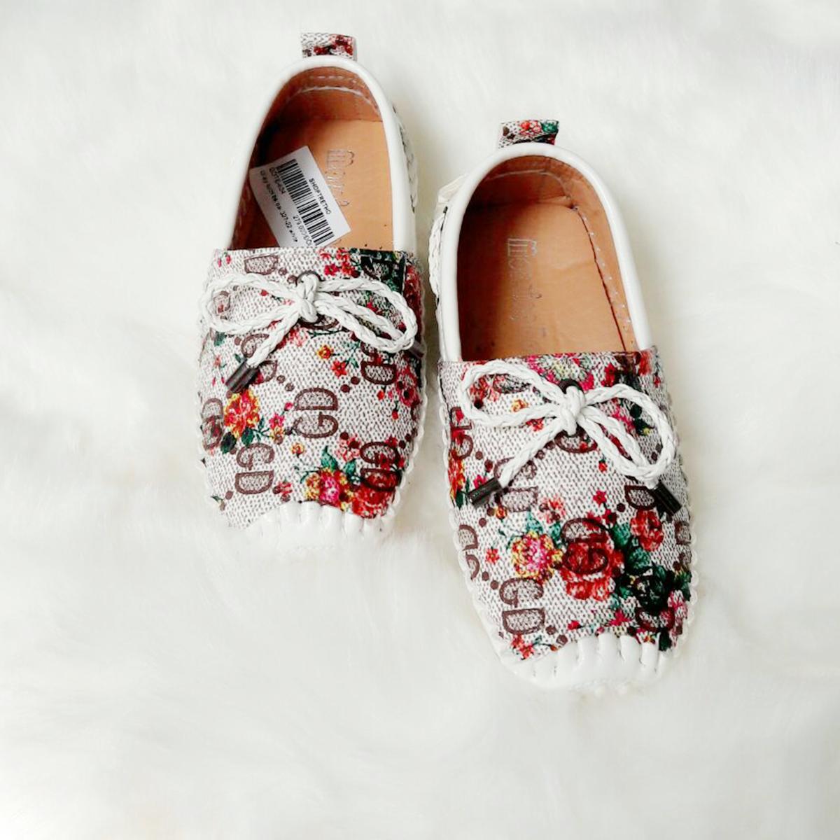 Giày lười bé gái 0026-12 (1-4T)