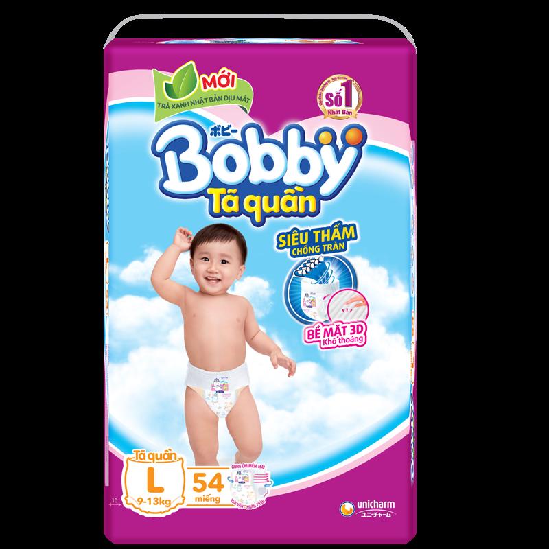 Tã - bỉm quần Bobby L54 (9-13kg)