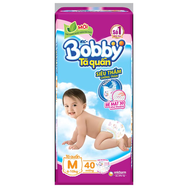 Tã - bỉm quần Bobby M40 (6-10kg)