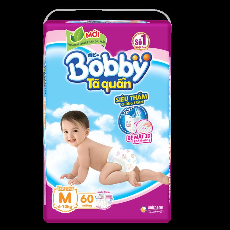 Tã - bỉm quần Bobby M60 (6-10kg)