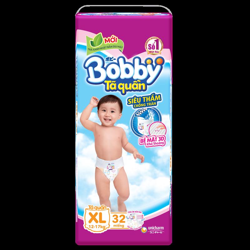 Tã - bỉm quần Bobby XL32 (12-17kg)