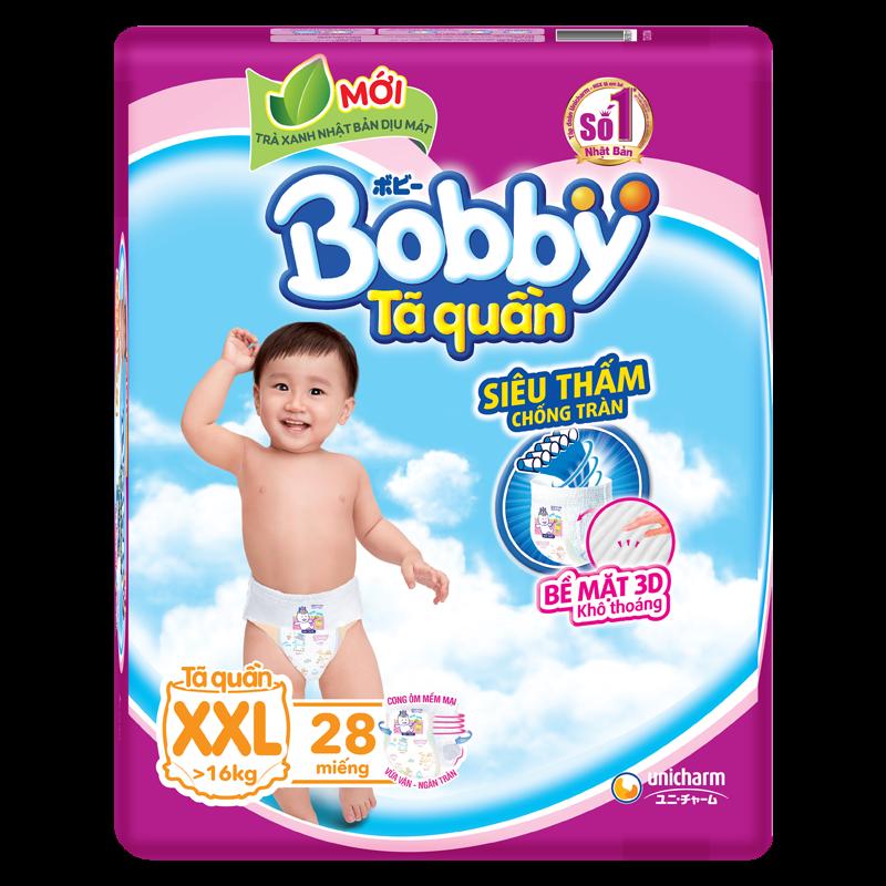 Tã - bỉm quần Bobby XXL28 (trên 16kg)