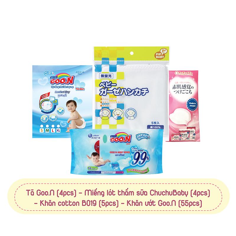 Combo bình sữa PPSU 150ml và núm ty silicone Chuchu