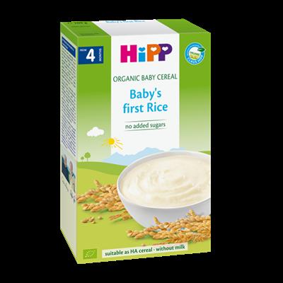 Bột dinh dưỡng Hipp Organic bột gạo nhũ nhi