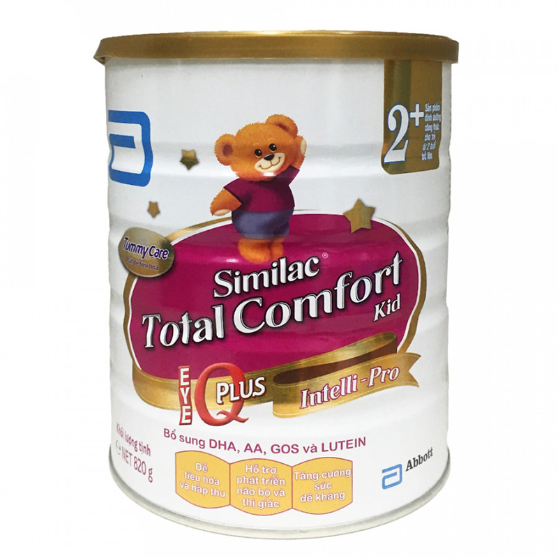 Sữa Similac Total Comfort Kid 2+ (820g)