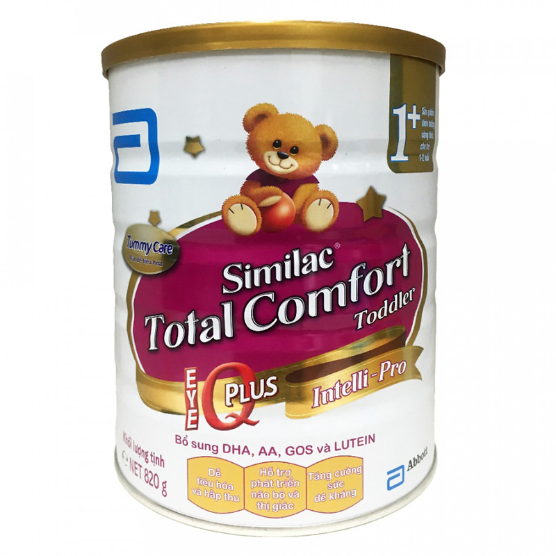 Sữa Similac Total Comfort Toddler 1+ (1-2 tuổi) 820g