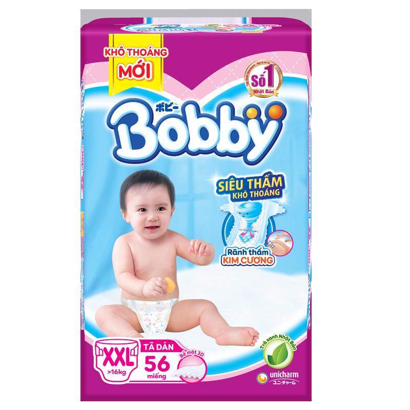 Tã - bỉm dán Bobby XXL56 (>16kg)