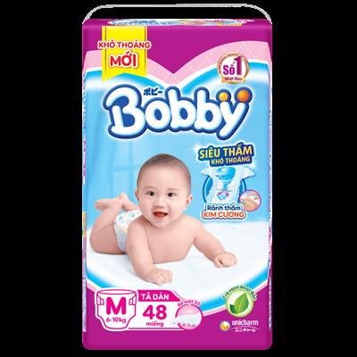 Tã - bỉm dán Bobby M48 (6-10kg)