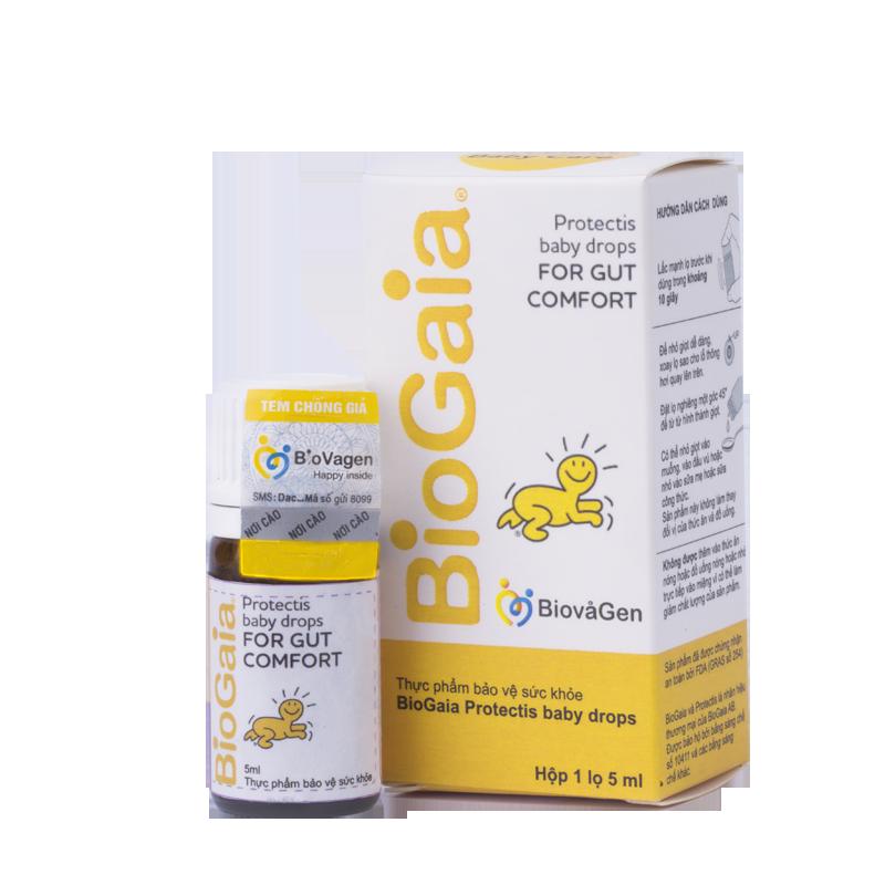 Lợi khuẩn đường ruột BioGaia Protectis Baby