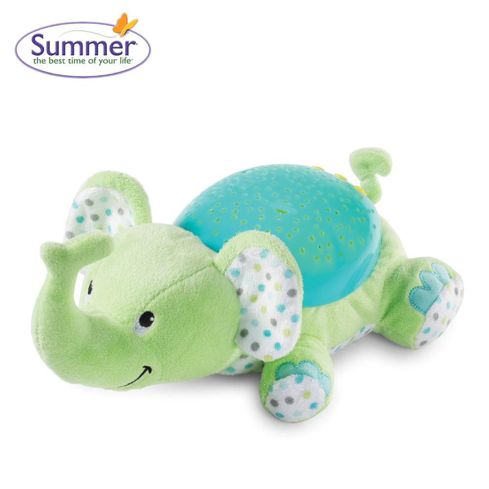 Đèn chiếu sao ru ngủ hình chú voi con Summer 06310
