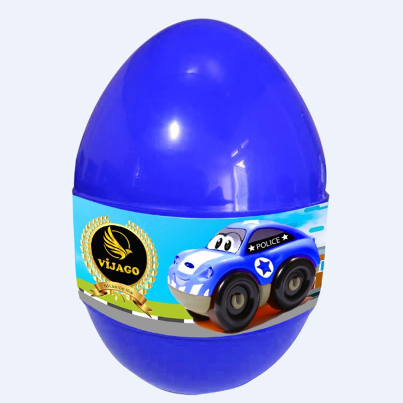 Đồ chơi quả trứng thần kỳ Vijago - Xe cảnh sát VJG006
