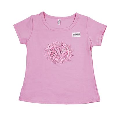 Áo cộc tay bé gái nhiều hình DL023 (1-8T)