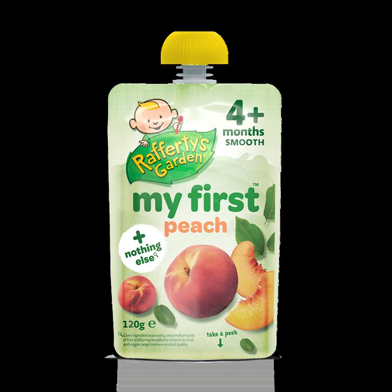 Thức ăn dinh dưỡng quả đào đầu tiên Rafferty's Garden 4M+