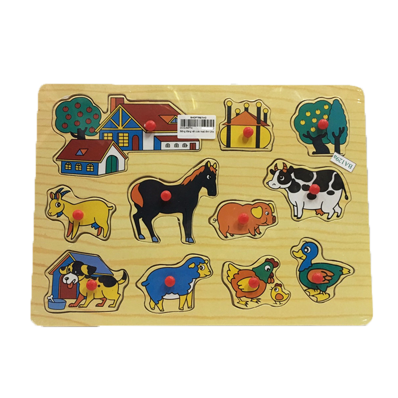 Bảng động vật nông trại BA129a