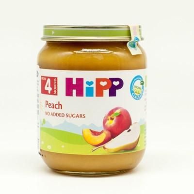Dinh dưỡng đóng lọ HiPP đào tây (125g)
